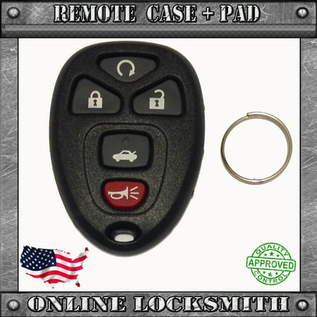Chevrolet Malibu 2004-2012 Replacement Keyless Entry Remote Key Fob Shell