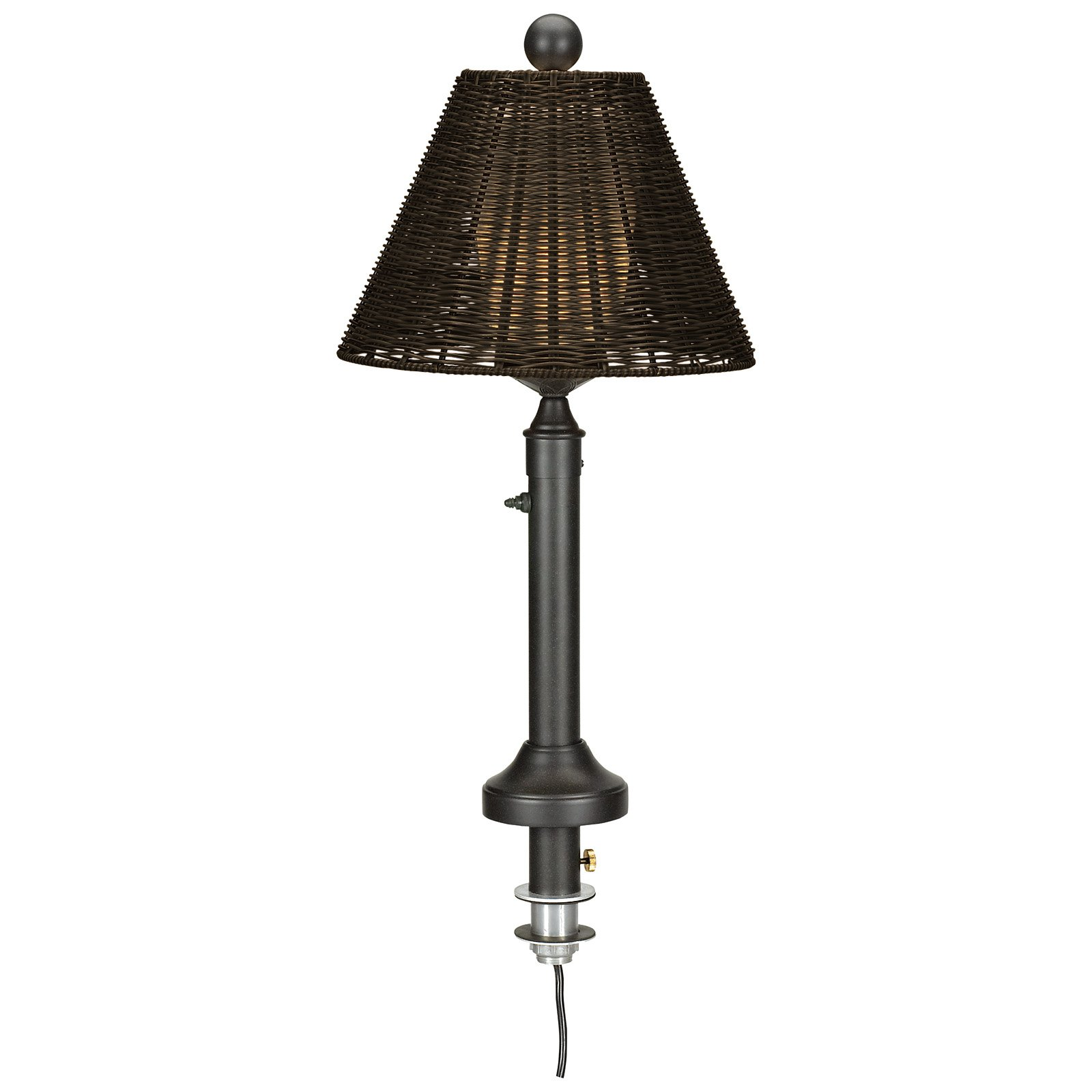Tahti Outdoor Patio Table Umbrella Lamp Walmart