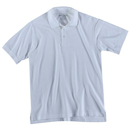 5.11 Men's Utility Short Sleeve Tall Polo Shirt, White, XX-Large/Tall 5.11 Tactical Long Sleeve Polo Shirt