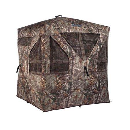 Ameristep 1RX2H092LFR Camouflage Crush Silencer Hunting Ground Blind w/ Windows thumbnail
