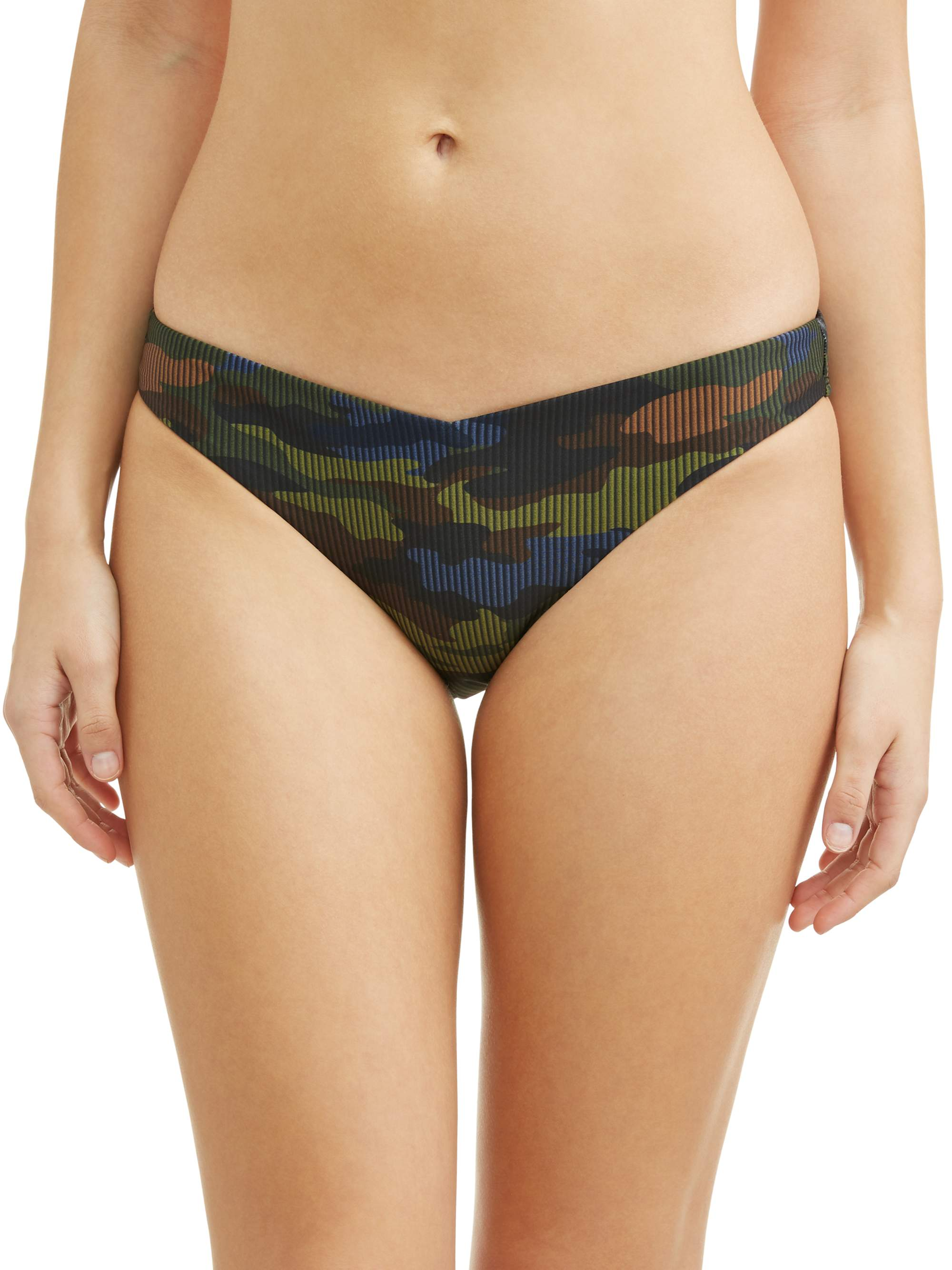 Juniors' Camozone V Swimsuit Bottom