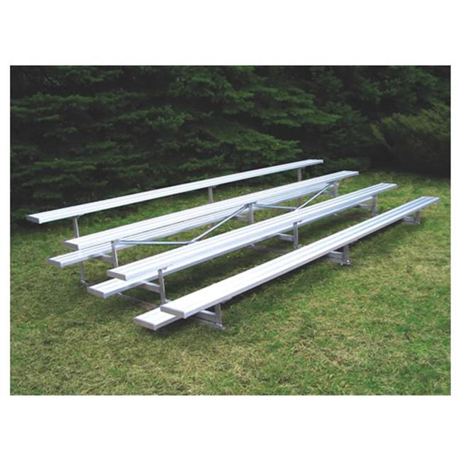 Jaypro Sports BLCH-421AL 4 Row 21 ft. Aluminum Bleacher by Jaypro Sports
