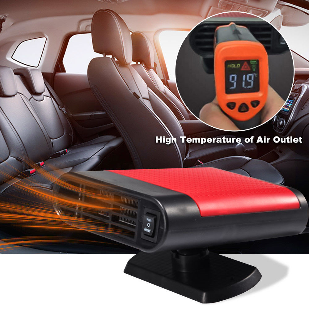 12V Auto Car Heater Cooler Dryer Fan Portable Defroster Demister 150W Warm New