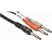 """Hosa STP204      BLM 1/4"""" TRS Male to Dual 1/4"""" TS Y-Cable 4 m"""