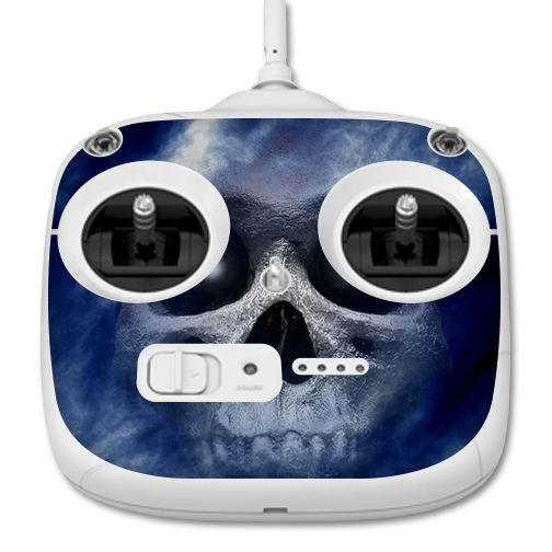 MightySkins Protective Vinyl Skin Decal for DJI Phantom 3 Standard Quadcopter Drone Controller wrap cover sticker skins Haunted Skull