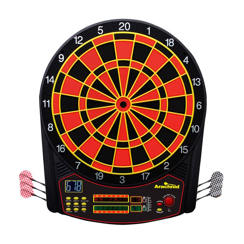 Arachnid CricketPro 450 Electronic Dart Board and Darts Set