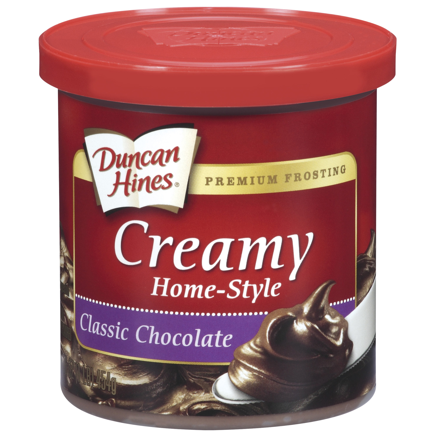 Duncan Hines Classic Chocolate Creamy Home-Style Frosting 16 Oz Can