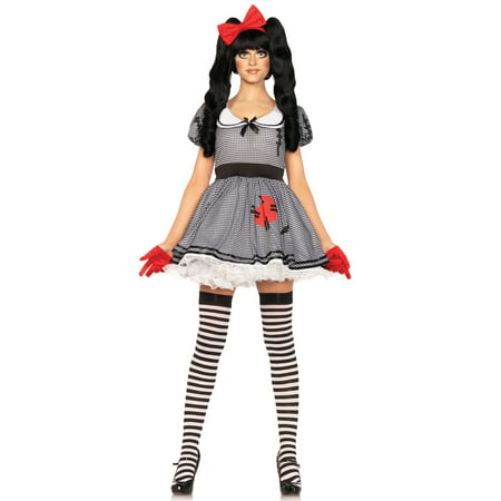 Leg Avenue Women's Creepy Wind-Me-Up Baby Doll Costume](Creepy Baby Costume)