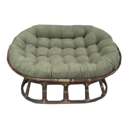 Cushion for Oversize Double Papasan (Sage)