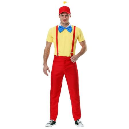 Dapper Tweedle Dee/Dum Plus Size Costume for Men - Tweedle Dee And Tweedle Dum Halloween