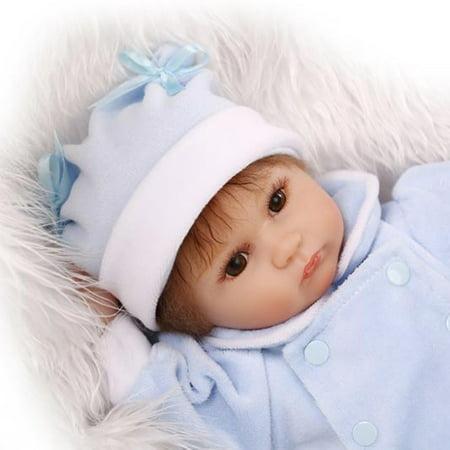 "16.5"" Handmade Realistic Reborn Doll Real Life Baby Girl Dolls Kids Birthday Gift - image 1 of 4"