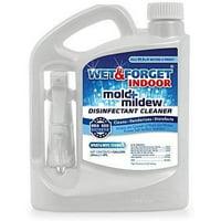 Wet & Forget Indoor Mold + Mildew Disinfectant Cleaner, 64 oz.