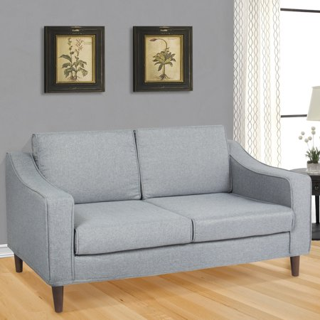 Best Choice Products Modern Furniture Loveseat Sofa Living