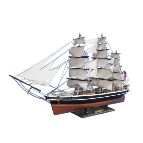 Handcrafted Nautical Decor Star of India 50'' Limited Tall Model Ship by Handcrafted Model Ships