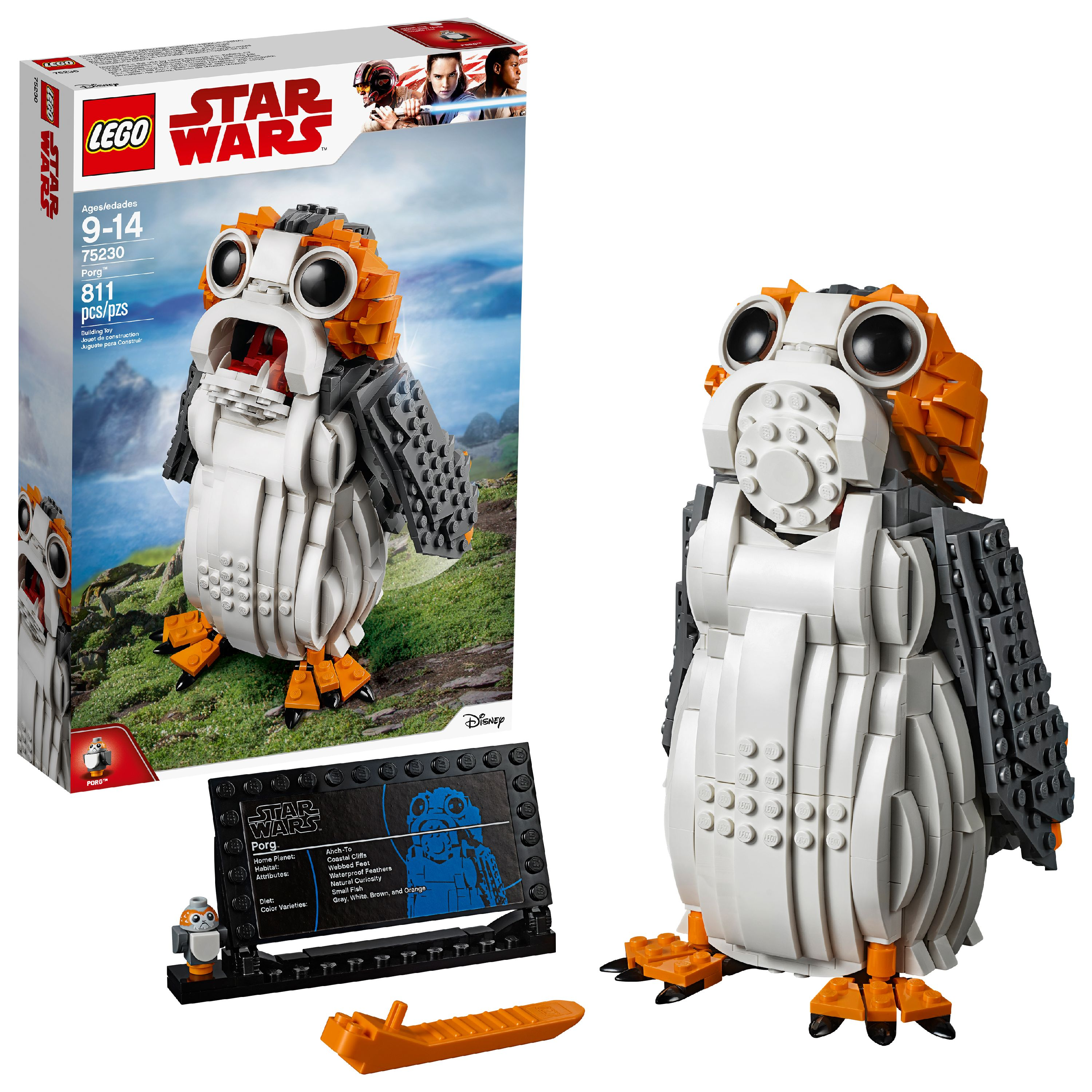 LEGO Star Wars TM Porg 75230 Building Set (811 Pieces)