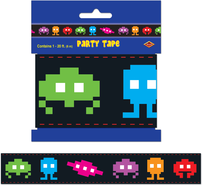 80's Party Tape Party Accessory (1 count) (1/Pkg)