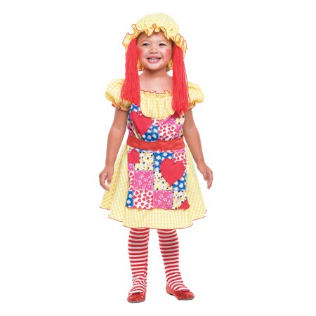 RAG DOLL TODDLER 2T (Rag Dolls Halloween Night)