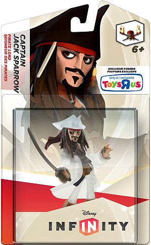 Disney Infinity Jack Sparrow Game Figure [Crystal] by