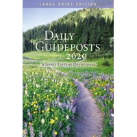 Daily Guideposts 2020 Large Print: A Spirit-Lifting Devotional (Paperback)(Large Print)
