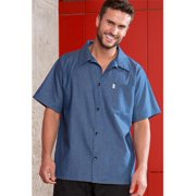 Vtex 0920C-1708 100 Percent Cotton Denim Utility Shirt, 4X Large