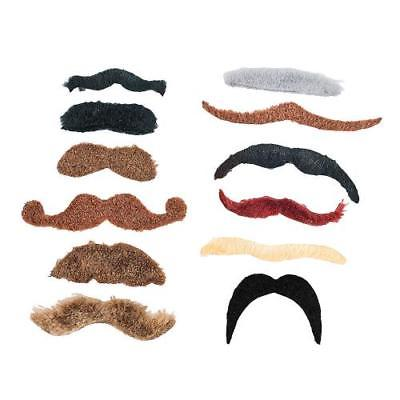 IN-14/1823 Large Self-Adhesive Mustache Assortment