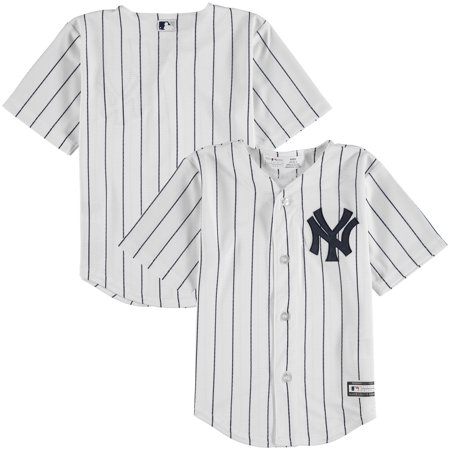 lowest price 16c93 7f7ab New York Yankees Toddler Home Replica Team Jersey - White ...