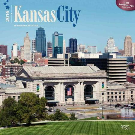 Kansas City 2016 Calendar
