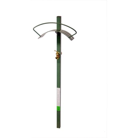 Yard Butler Free Standing Hose Hanger With Faucet