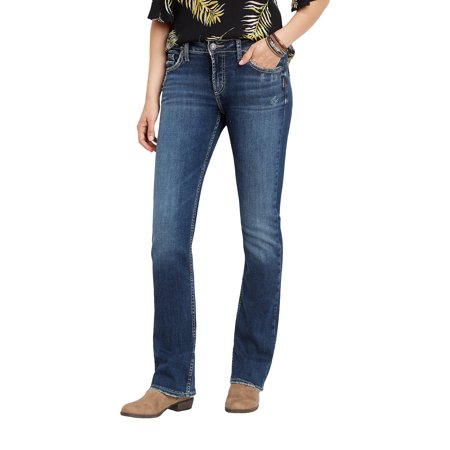 Silver Jeans Co. Avery High Rise Slim Boot Jean