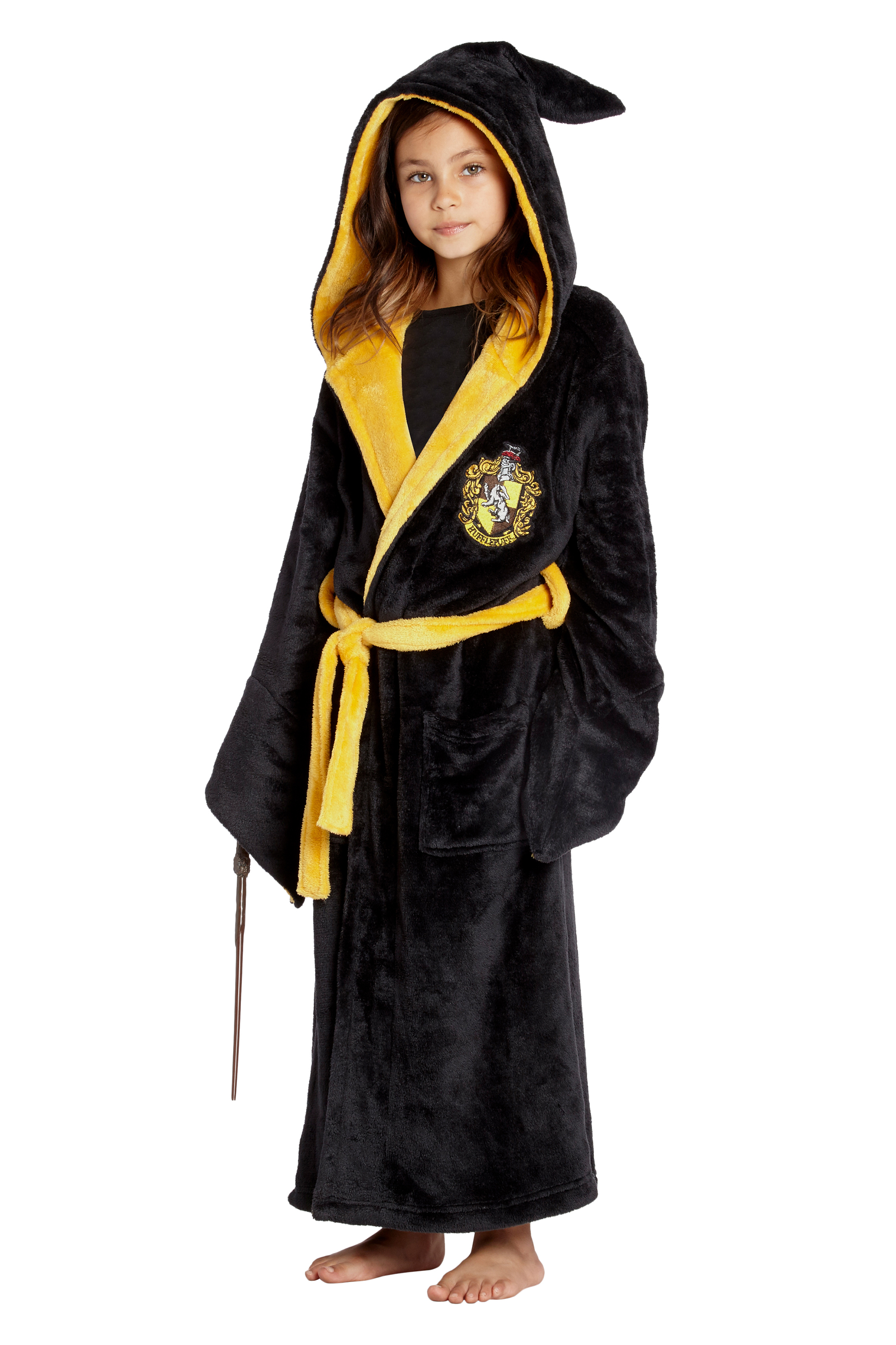 Harry Potter Costume Kids Plush Robe Hogwarts Houses Gryffindor, Ravenclaw,  Hufflepuff, Slytherin   Walmart.com