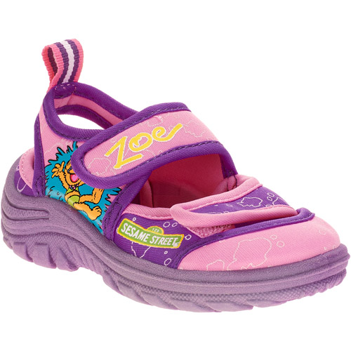 Sesame Street - Toddler Girls' Zoe Water Shoes