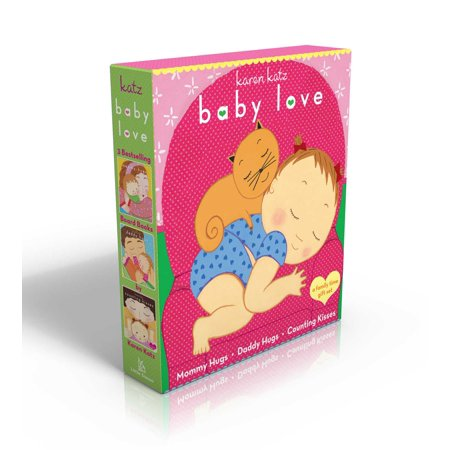 Baby Love Mommy Hugs Daddy Hugs Counting (Board - Baby Hogs