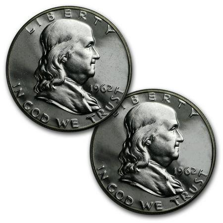 $1.00 Face Value Franklin Halves Proof (Franklin Silver Proof)