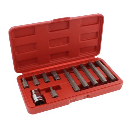 ABN XZN Triple Square Spline 11pc Metric Drill Bit Set – Bits & Hex Bit Adapter