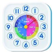 Seiko Plastic Case White Dial White Analog Quartz Wall Clock - QHA004LLH