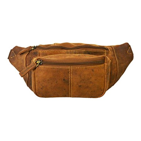 Visconti 720 Leather Waist Pack  Belt Pouch  Fanny Pak  Bumbag  Oil Tan