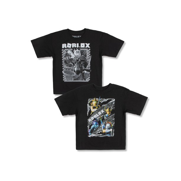 Roblox Roblox Boys 4 18 Double Group Character Graphic T Shirts