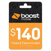 Boost Mobile $140 e-PIN Top Up (Email Delivery)