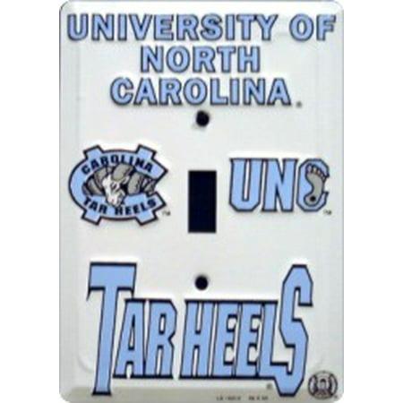 North Carolina Tarheels Metal Light Switch Plate ()