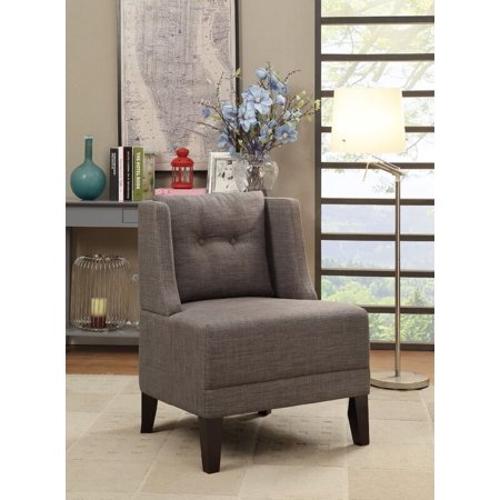 Terrific Poundex Bobkona Prissy Accent Chair In Brown 0 Caraccident5 Cool Chair Designs And Ideas Caraccident5Info