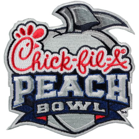 Chick Fil A Peach Bowl Game Jersey Patch Alabama Crimson Tide Vs  Washington