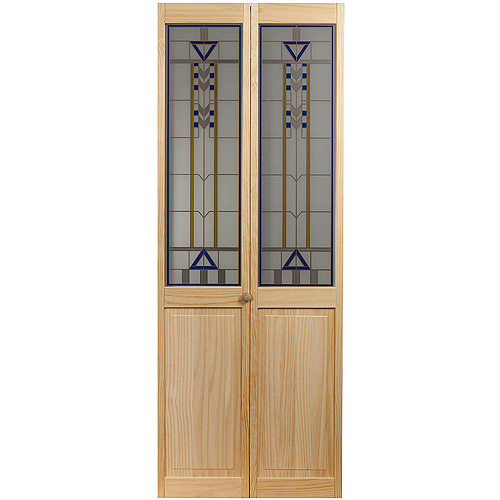 AWC 107 Artist Glass Bifold Door