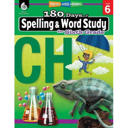 180 Days of Practice: 180 Days of Spelling and Word Study for Sixth Grade (Grade 6): Practice, Assess, Diagnose