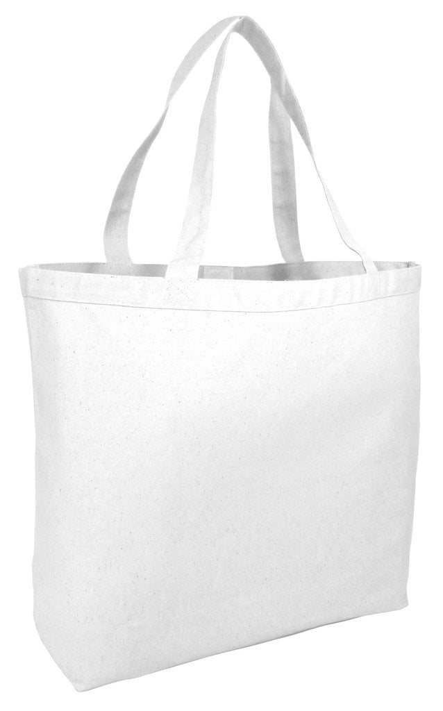 Tbf 23 Extra Large Canvas Tote Bag W Velcro Closure Pool Beach Ping Travel Eco Friendly Set Of 12