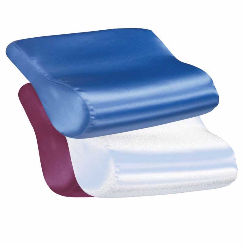 Core Products AB Contour Cervical Pillow Satin Burgundy