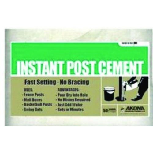 Image of Akona Corporation 102631 50# Instant Post Cement