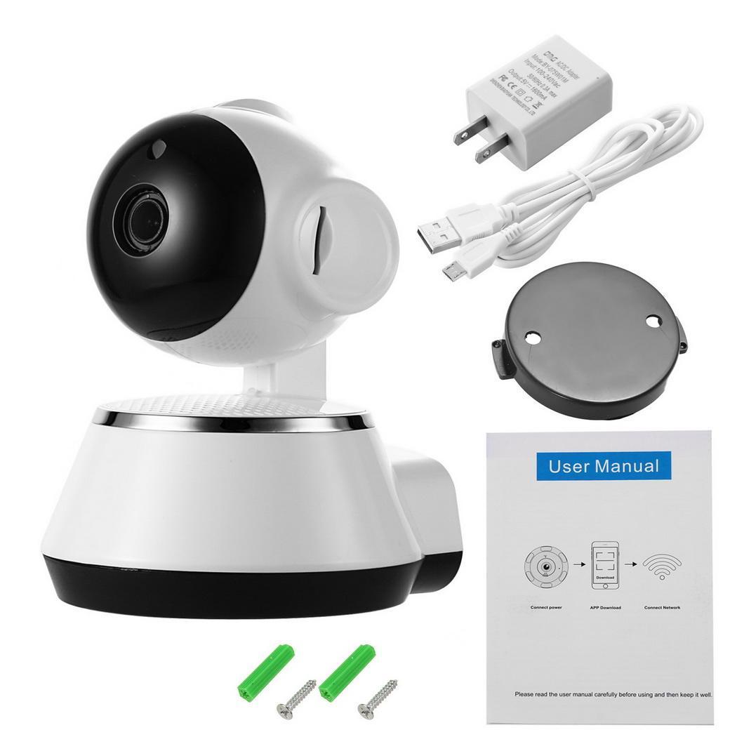 Baby Monitor Alarm Home Security IP Camera HD 720P Night Vision WSY