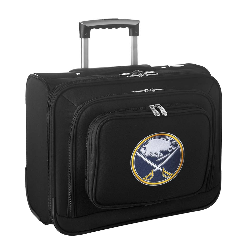 Denco NHL Wheeled Laptop Overnighter, Buffalo Sabres by Mojo Licensing