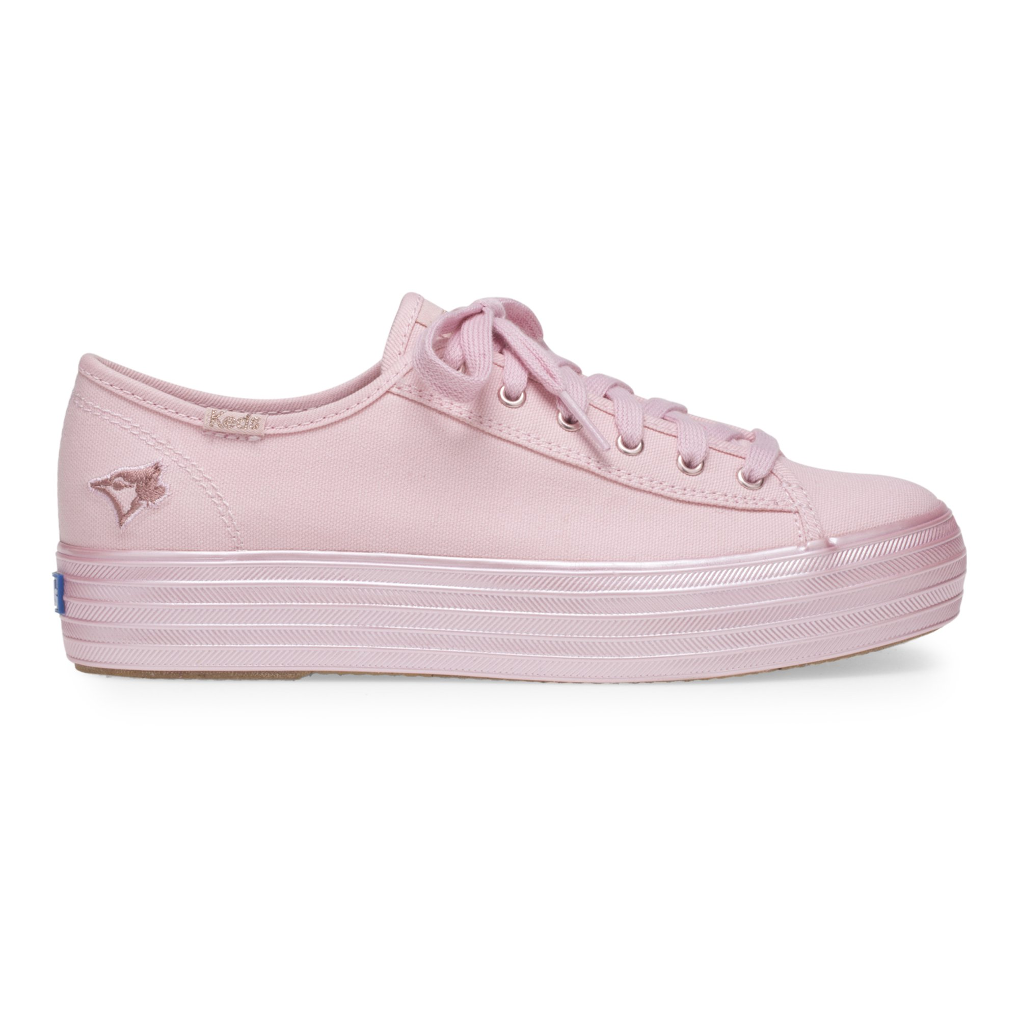 4abc04ab11abc Keds Women s Triple Kick Mlb Sneakers in Pink
