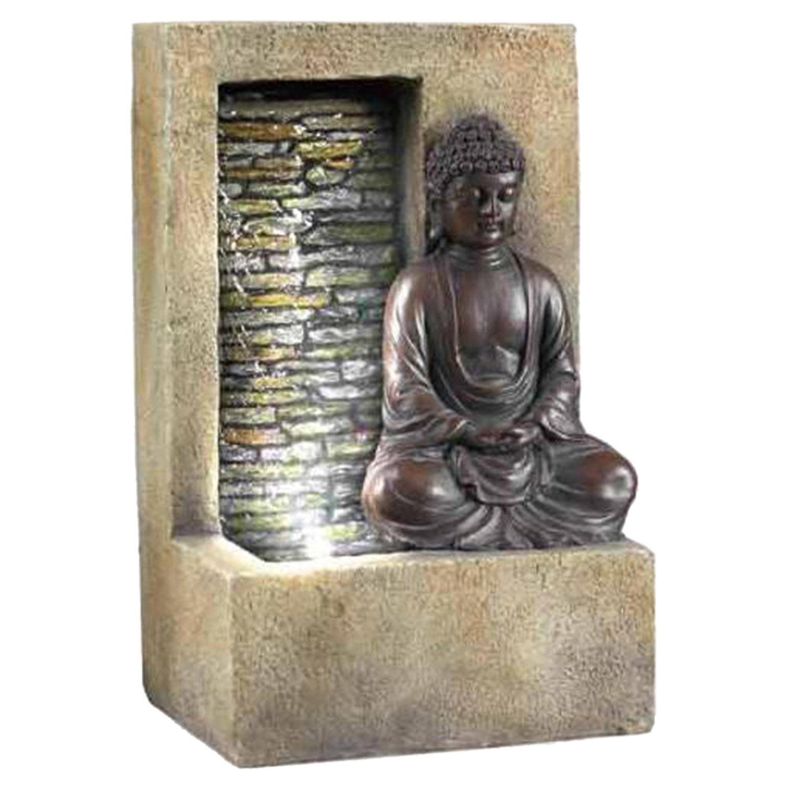 "Ore International Inc. 10"" Buddha Table Top Fountain"
